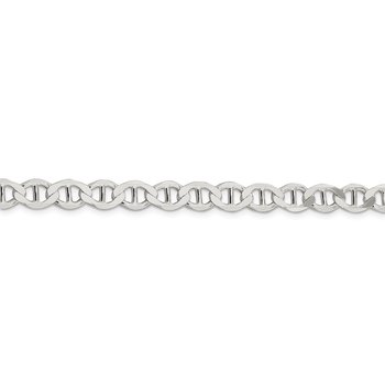 Sterling Silver 7.1mm Flat Anchor Chain