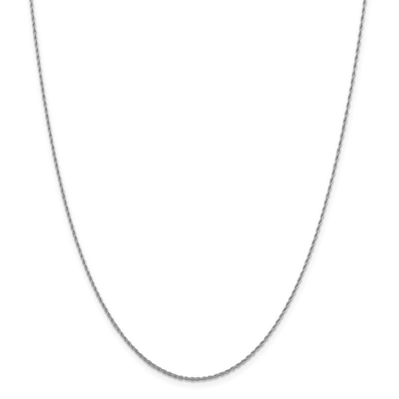 Leslie's Leslie's 14K White Gold 1.3mm Loose Rope Chain
