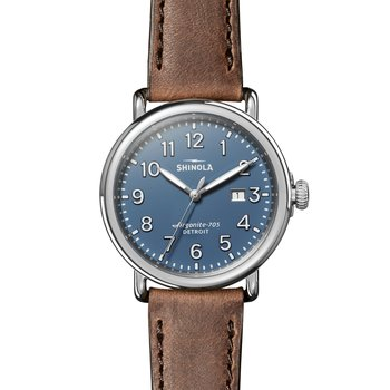Runwell 3HD 41mm, British Tan Leather Strap