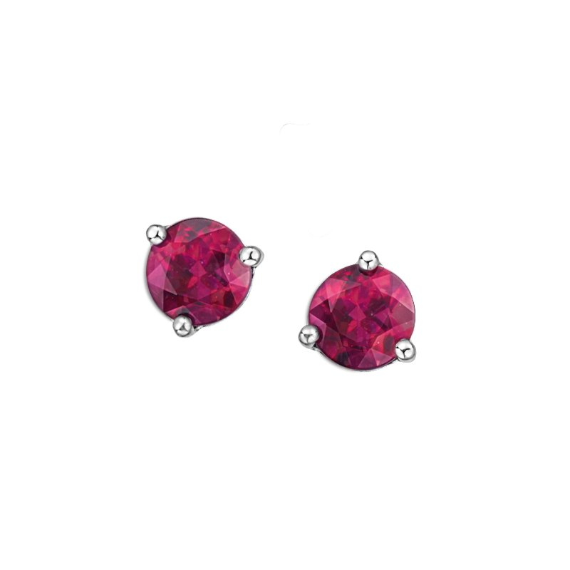 Diamond Days Pink Topaz Earrings