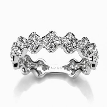 MARS 26272 Fashion Ring, 0.96 Ctw.