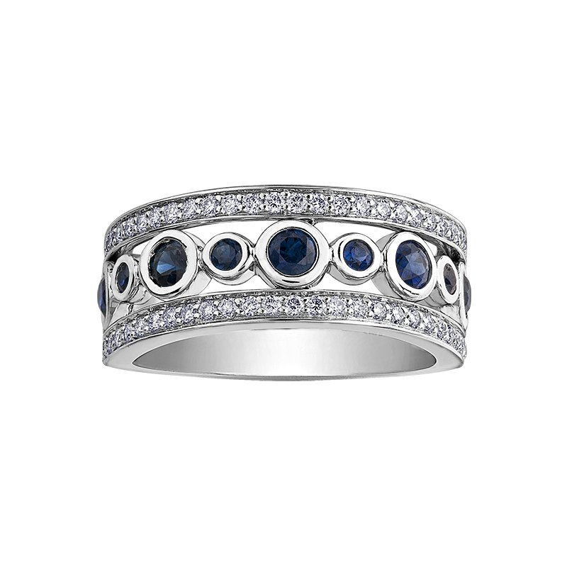 D of D Signature Sapphire Ladies Ring