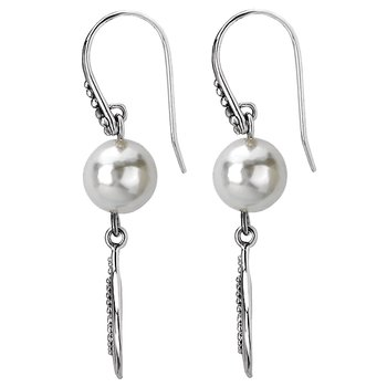 Ladies Fashion Pearl Earrings