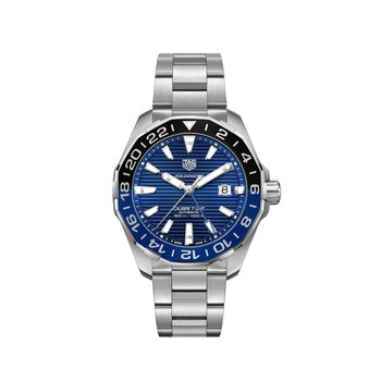 Aluminum Bezel Automatic GMT Watch