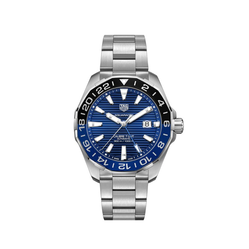 TAG Heuer Aluminum Bezel Automatic GMT Watch