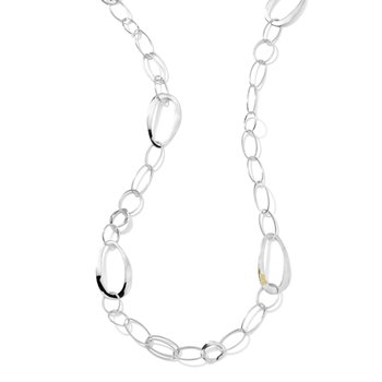 Ipploita sterling/18kt Cherish chain necklace. Available at our Halifax store.