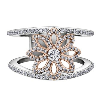 Maple Leaf Diamonds™ Ladies Ring