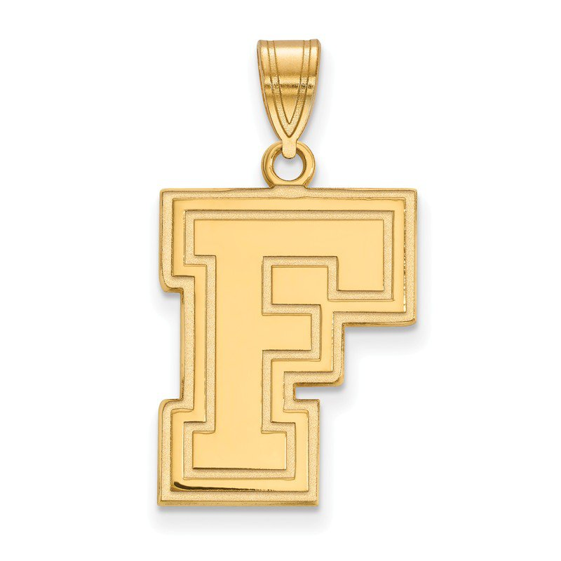 NCAA Gold-Plated Sterling Silver Fordham University NCAA Pendant