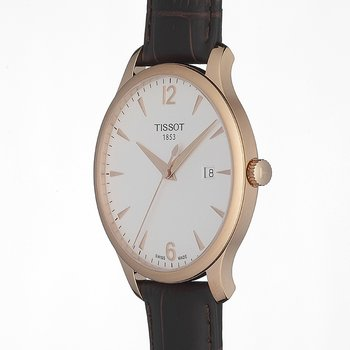 Tradition Gent Rose Gold PVD Classic Quartz Watch