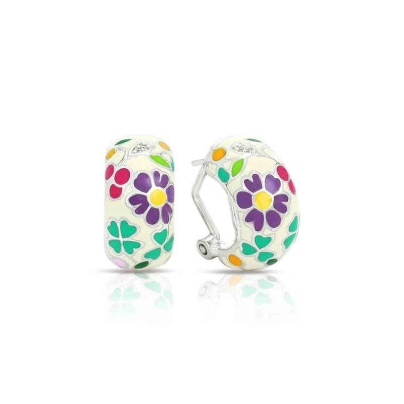 Belle Etoile Flower Garden Earrings