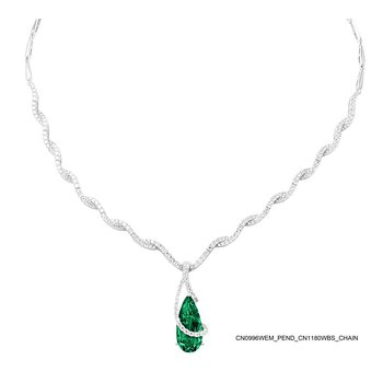 Emerald Necklace-CN0996WEM