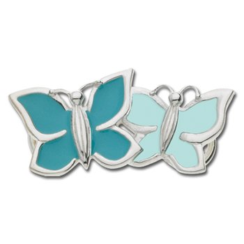 Turquoise Blue Double Butterfly Convertible Clasp