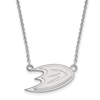 Gold Anaheim Ducks NHL Necklace