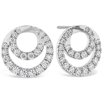 1.15 ctw. Optima Diamond Circle Earrings