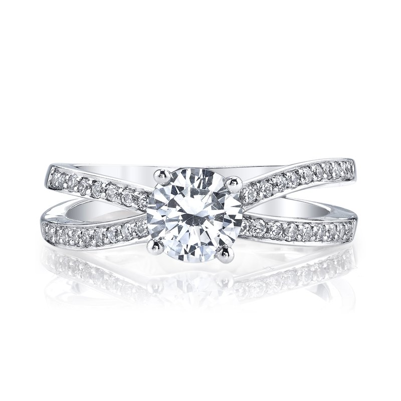 25406 Diamond Engagement Ring 0.26 ct tw