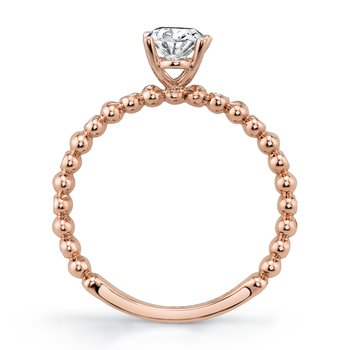 MARS 27223 Diamond Engagament Ring 0.06 Ctw.
