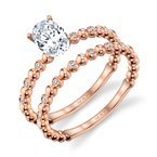 MARS Jewelry MARS 27223 Diamond Engagament Ring 0.06 Ctw.