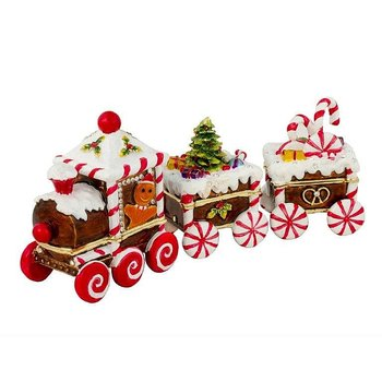 Candy Cane Train 3 pieces