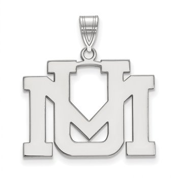 Gold University of Montana NCAA Pendant