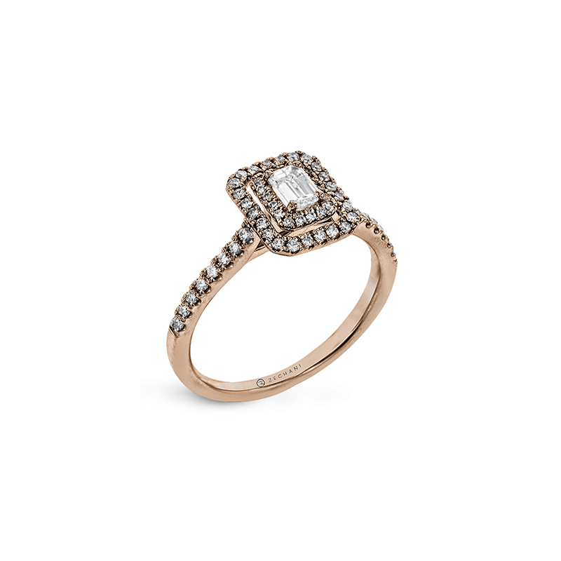 Zeghani ZR1863-R ENGAGEMENT RING