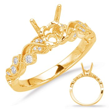 Yellow Gold Enagement Ring