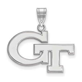 Gold Georgia Institute of Technology NCAA Pendant