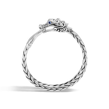 Legends Naga 9.5MM Bracelet in Silver