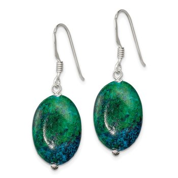 Sterling Silver Serpentine Earrings