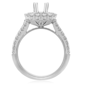 Shared Prong Double Halo Engagement Setting