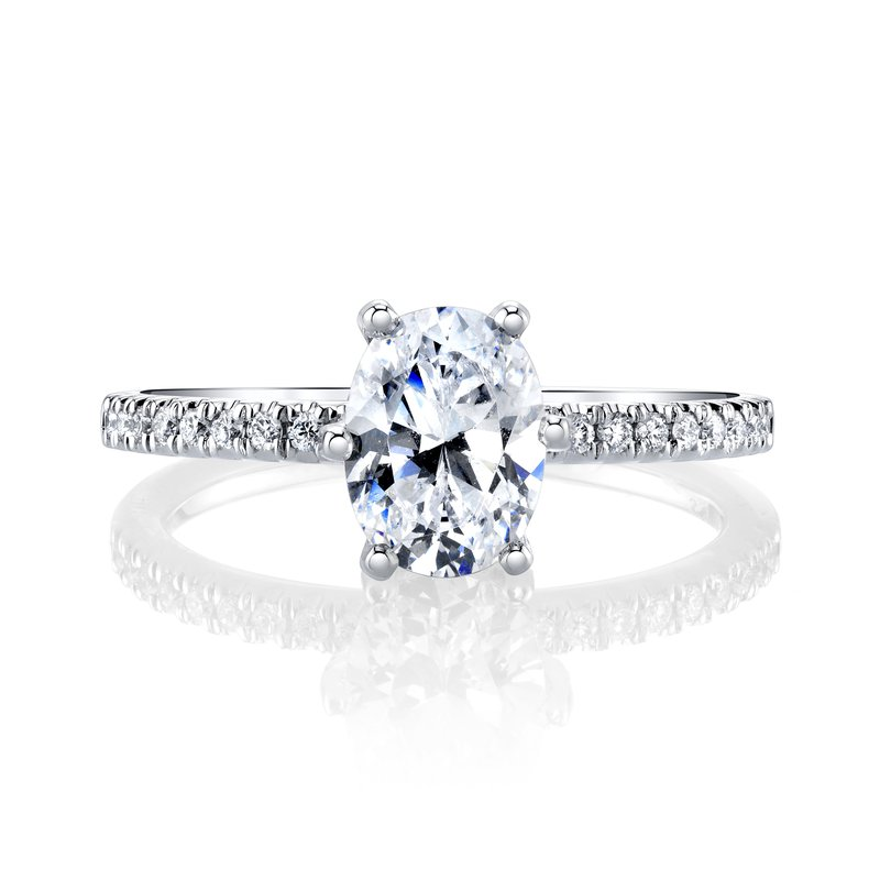MARS Jewelry MARS 27154 Engagement Ring, 0.24 Ctw.