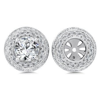 Diamond Earing Jacket ( .84 tw )