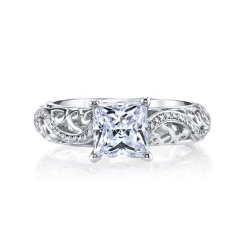 MARS 26561 Diamond Engagement Ring, 0.18 ct tw