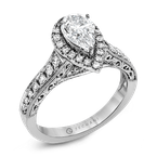 Zeghani ZR1383 ENGAGEMENT RING