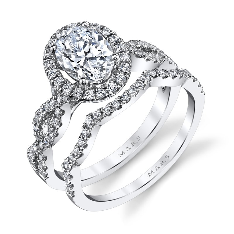 MARS Jewelry - Engagement Ring 25366