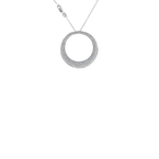 Roberto Coin 18Kt White Gold Large Diamond Pendant