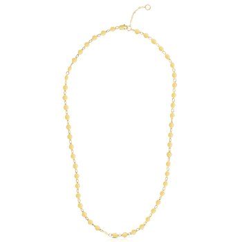 14K Gold Mirror Chain