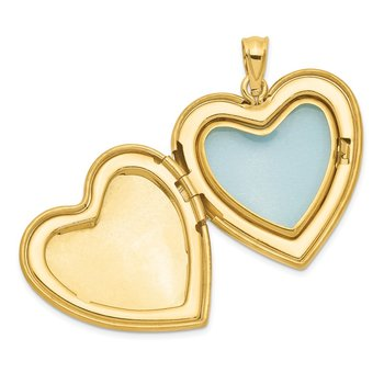 Sterling Silver Gold-tone Forever In My Heart Ash Holder Heart Locket