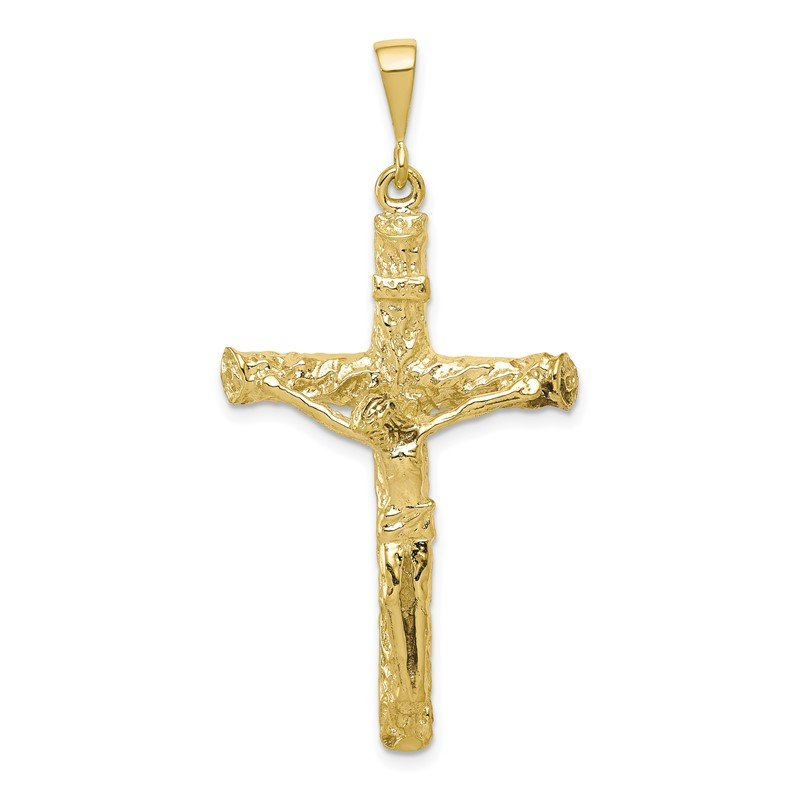 Quality Gold 10k Crucifix Charm
