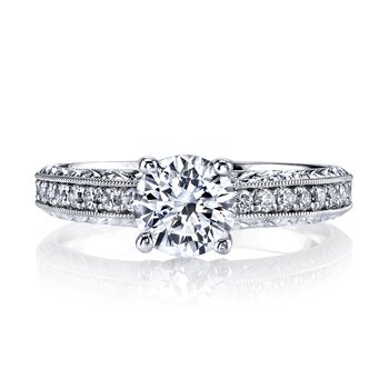 13010E Diamond Engagement Ring 0.20 ct tw