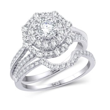 14K 1.00Ct Diam Semi Mount Ring
