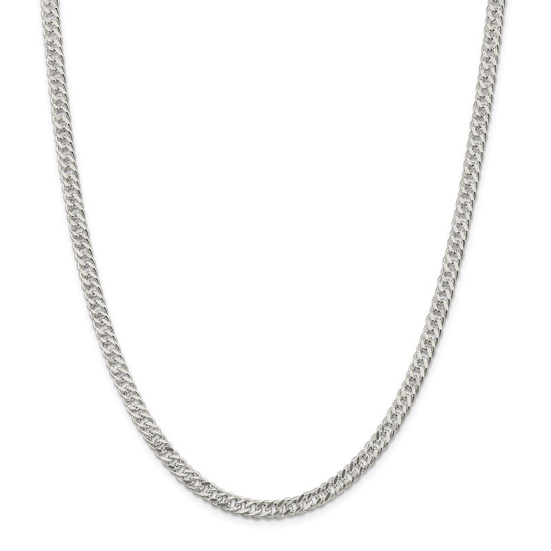 Quality Gold Sterling Silver 5.5mm Rambo Chain