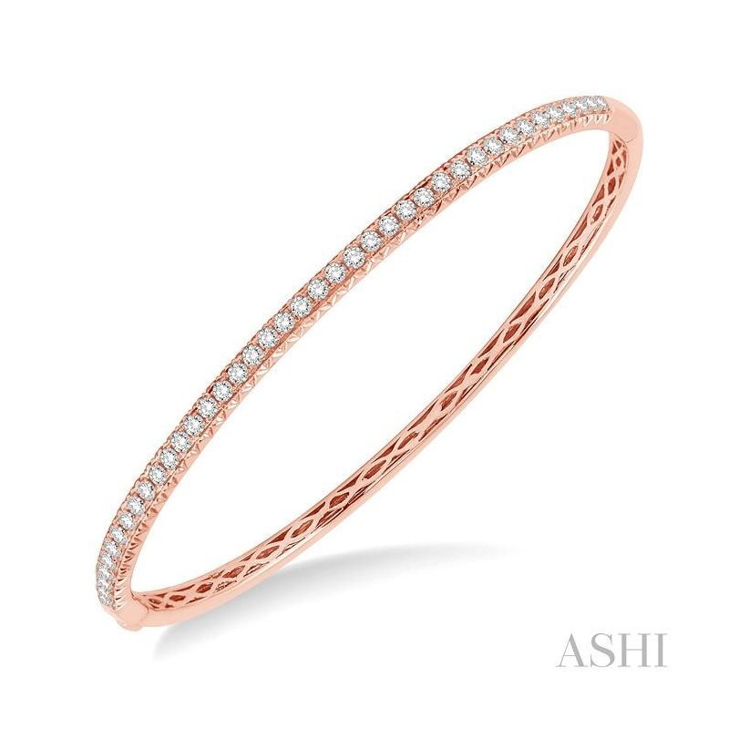 ASHI diamond stackable bangle