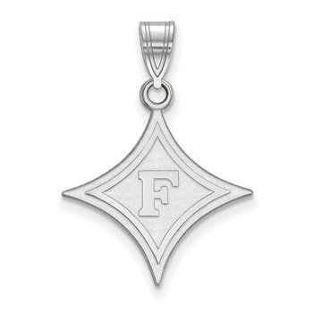 Gold Furman University NCAA Pendant