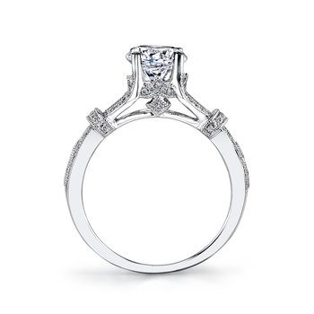 MARS 26695 Diamond Engagement Ring 0.24 Ctw.