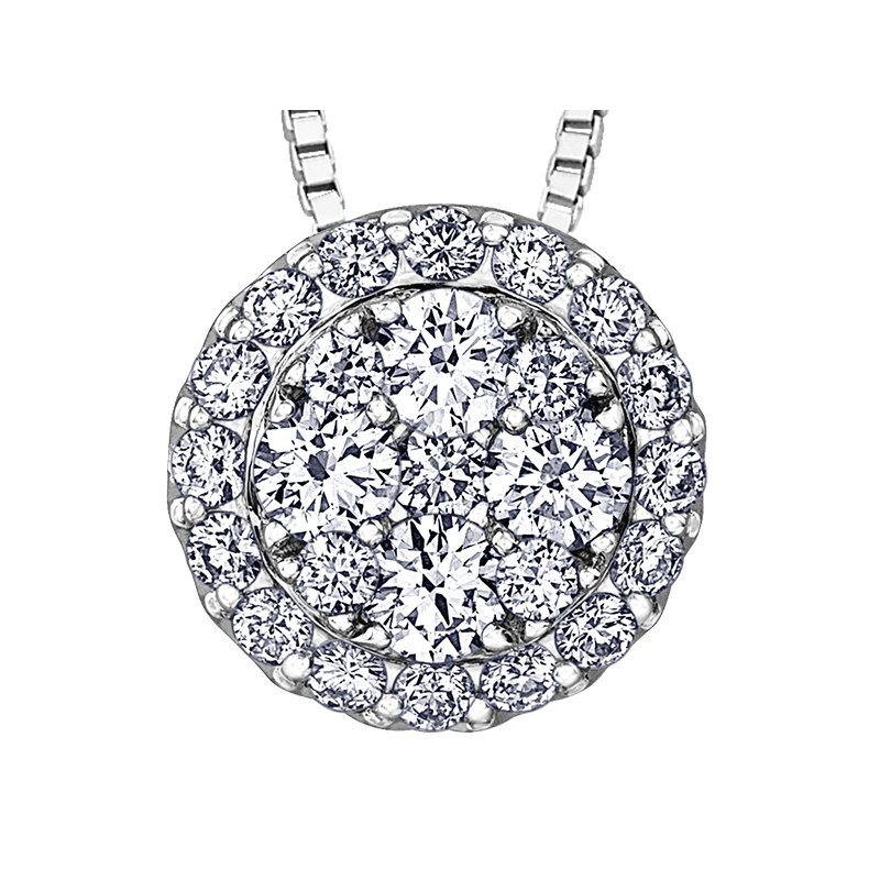D of D Signature Diamond Pendant