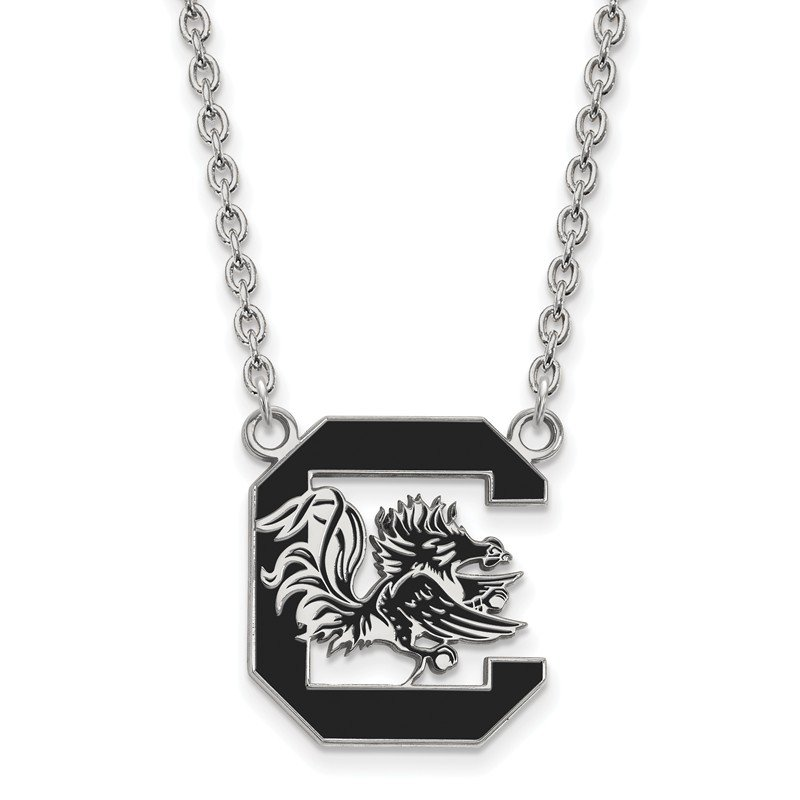 NCAA Sterling Silver University of South Carolina NCAA Necklace