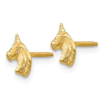 14k Madi K Unicorn Post Earrings