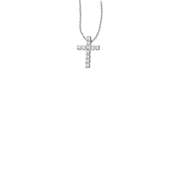 Cento Eternity Cross Pendant