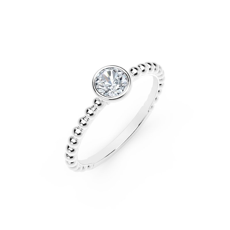 Forevermark Black Label The Forevermark Tribute™ Collection Diamond Stackable Ring