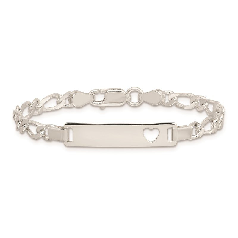 J.F. Kruse Signature Collection Sterling Silver Baby ID 6 IN Bracelet